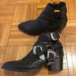 ASOS western booties